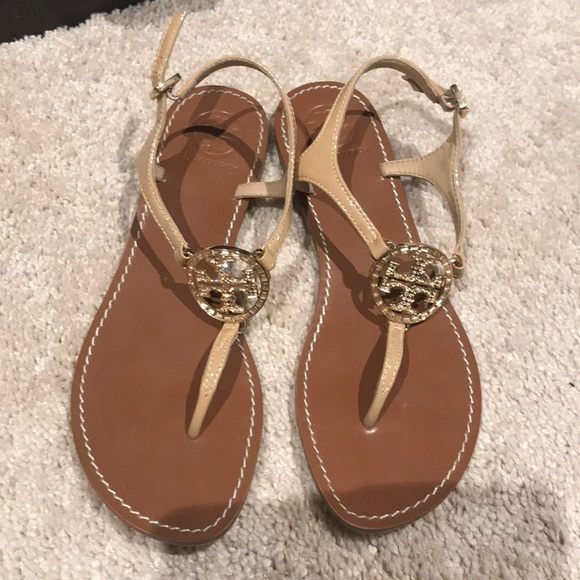 ca7e0132b57d Gorgeous tory burch sandals shoes rose gold 8.5. M 5ad099a82ab8c53782426c04